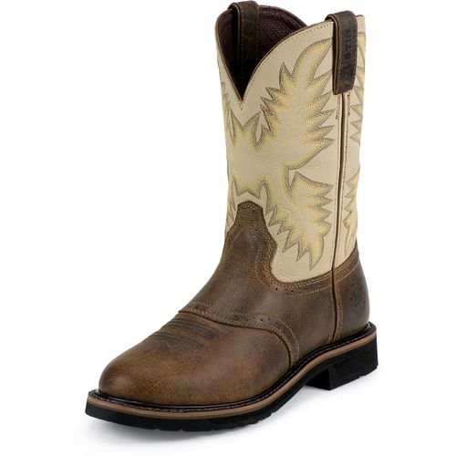 Display product reviews for Justin Men's Western Work Boots