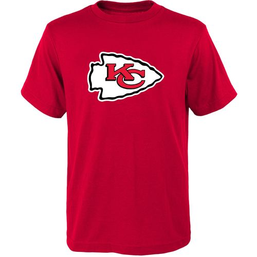 NFL Boys' Kansas City Chiefs Primary Logo Short Sleeve T-shirt