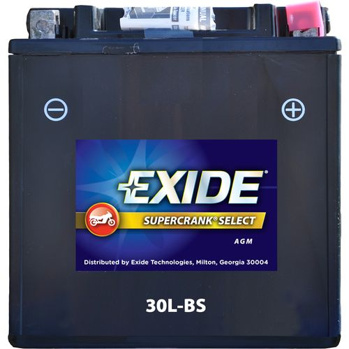 Exide Supercrank Select High Performance Flooded Powersport Battery
