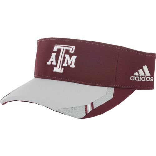 adidas™ Men's Texas A&M University Coaches Visor