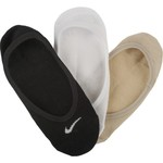 Nike Women's Cotton Footies 3-Pair