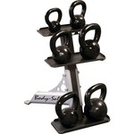Body-Solid 3-Pair Kettlebell Rack - view number 2
