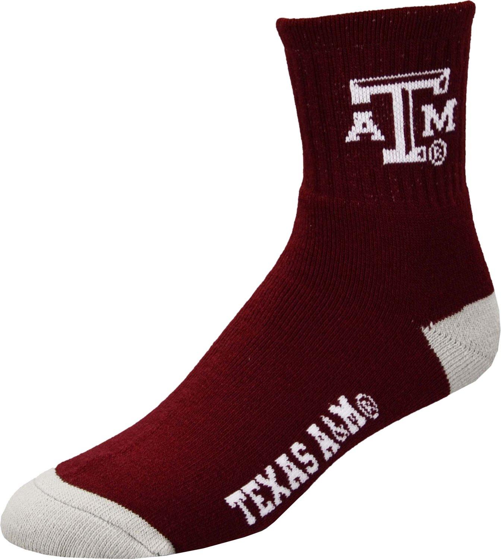 For Bare Feet Men's Texas A&M University Quarter