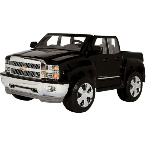 rollplay kids chevy silverado 12v ride on vehicle