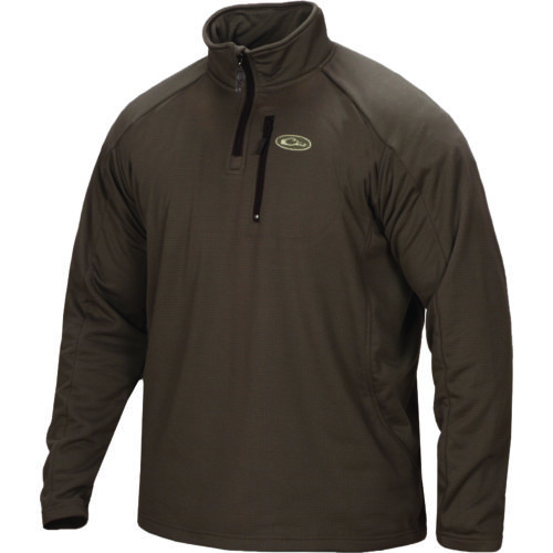 Drake Waterfowl Men's Breathelite 1/4 Zip Fleece Pullover | Academy