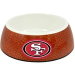 GameWear San Francisco 49ers Classic NFL Football Pet Bowl