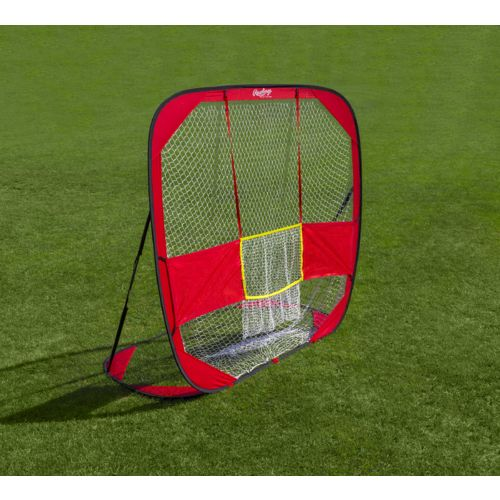 Rawlings 7 ft x 6.5 ft Pop-Up Training Net - view number 1
