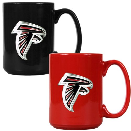 Great American Products Atlanta Falcons 15 oz. Ceramic Mug Set