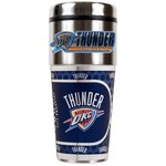 Great American Products Oklahoma City Thunder 16 oz. Travel Tumbler with Metallic Wrap