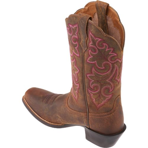 Ariat Women's Round Up Square-Toe Cowboy Boots | Academy