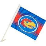 Tag Express University of Kansas Car Flag
