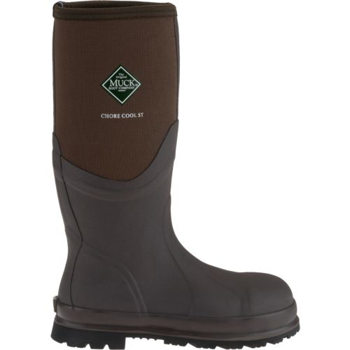 Display product reviews for Muck Boot Adults' Chore Cool Steel Toe Work Boots