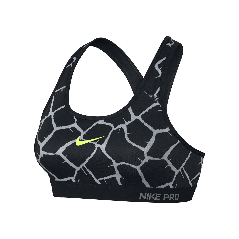 Nike Women's Pro Classic Padded Giraffe Sports Bra