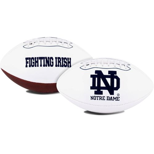 Jarden Sports Licensing University of Notre Dame Signature Series Full Size Football with Autograph