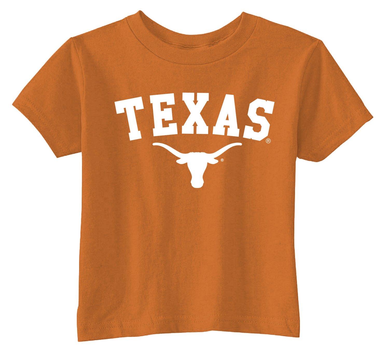 Viatran Toddlers' University of Texas Short Sleeve T-shirt