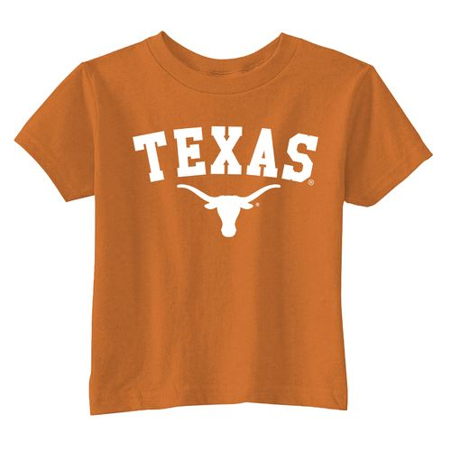 Viatran Toddlers' University of Texas Short Sleeve T-shirt