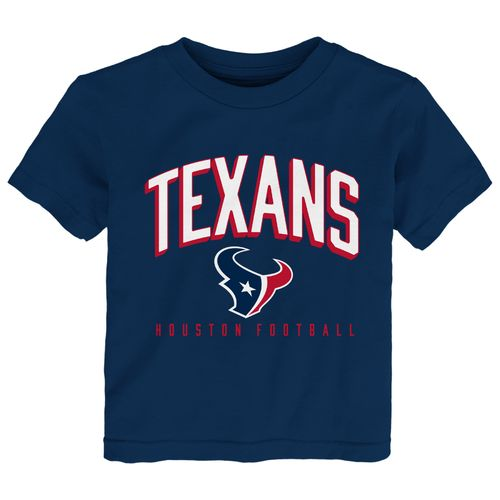 NFL Toddlers' Houston Texans Arch Standard T-shirt