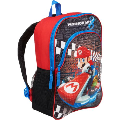 Mario Backpack with Front Pocket