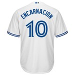 Majestic Men's Toronto Blue Jays Edwin Encarnacion #10 Cool Base® Jersey