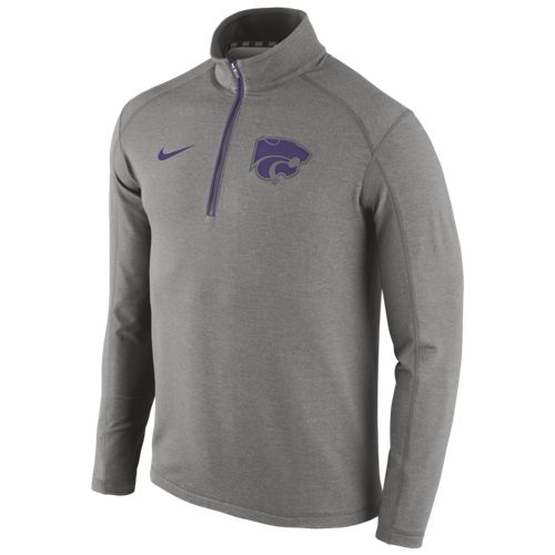 Nike™ Men's Kansas State University Game Day 1/2 Zip Knit Top