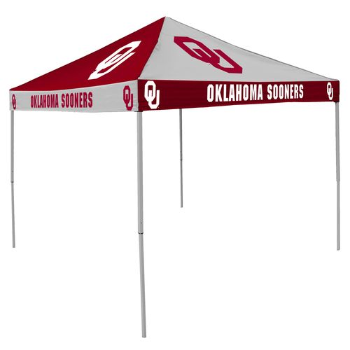 Logo University of Oklahoma Straight-Leg 9 ft x 9 ft Checkerboard Tent