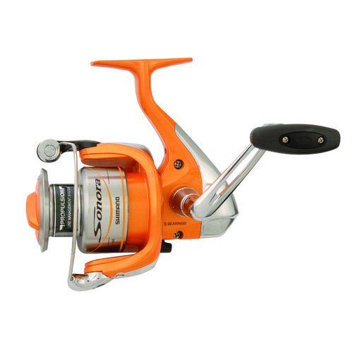 Shimano sonora 4000 fb spinning reel convertible academy for Academy fishing reels