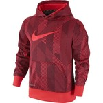 Nike Boys' KO 3.0 Allover Print Pullover Training Hoodie