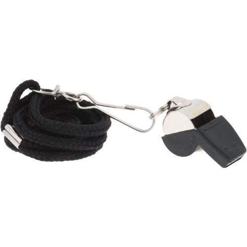 Academy Sports + Outdoors Stainless-Steel Whistle with Lanyard