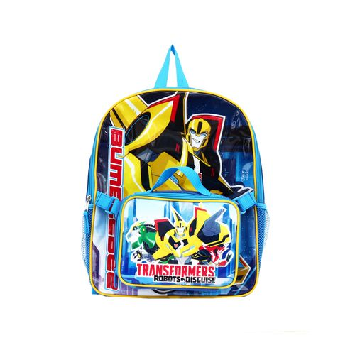 Transformers Backpack with Lunch Combo