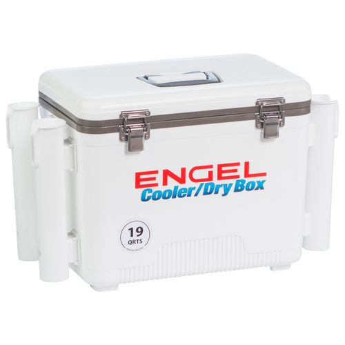 Engel 19 qt. Cooler/Dry Box with Rod Holders - view number 6
