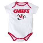 NFL Infant Boys' Kansas City Chiefs 3 Point Spread Bodysuits 3-Pack