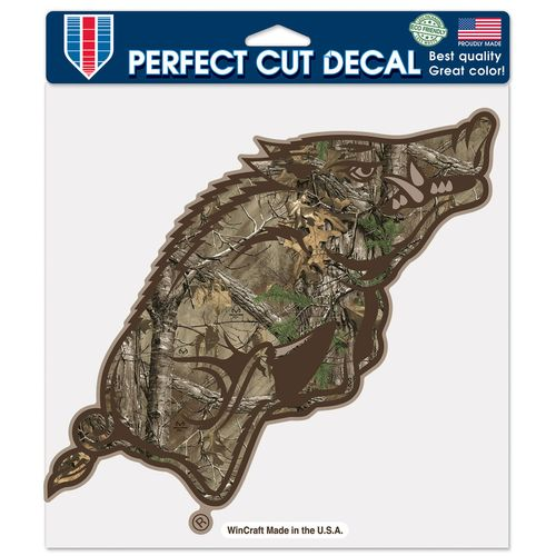 WinCraft University of Arkansas Perfect Cut Camo Decal