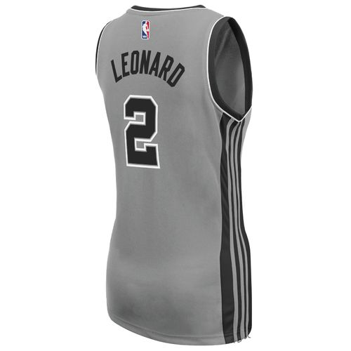adidas Women's San Antonio Spurs Kawhi Leonard No. 2 Alternate Replica Jersey