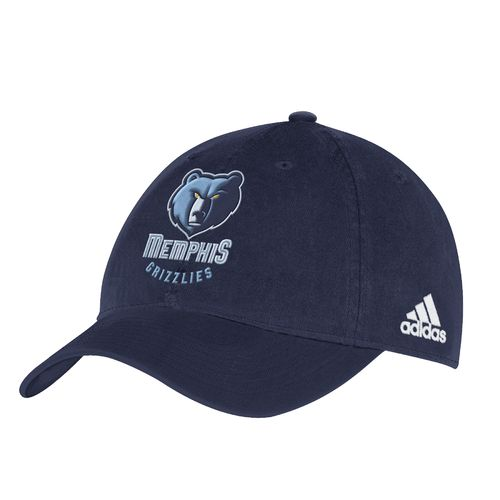 adidas™ Men's Memphis Grizzlies Slouch Adjustable Cap