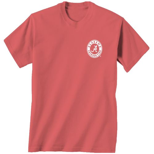New World Graphics Women's University of Alabama Floral T-shirt - view number 2