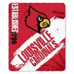 The Northwest Company University of Louisville Painted Fleece Throw - view number 1