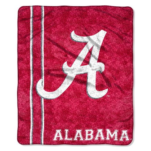 The Northwest Company University of Alabama Jersey Sherpa Throw