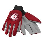 Team Beans Adults' University of Alabama 2-Color Utility Gloves
