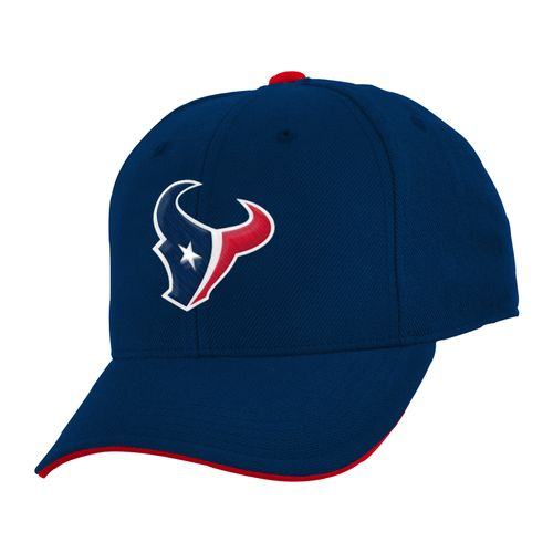 NFL Boys' Houston Texans Basic Straight Adjustable Cap