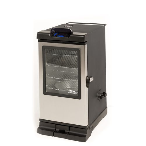 "Display product reviews for Masterbuilt Bluetooth® Smart 30"" Digital Electric Smoker"