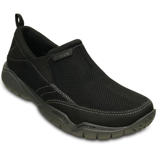 Crocs Men's Swiftwater Mesh Moc Sandals - view number 2