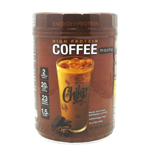 Display product reviews for Chike Nutrition High-Protein Coffee Powder