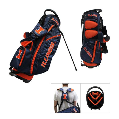 Team Golf University of Illinois Fairway Stand Golf Bag - view number 1
