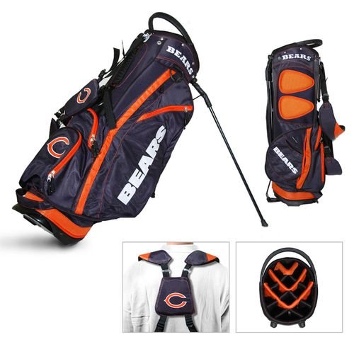 Team Golf Chicago Bears Fairway 14-Way Golf Stand Bag
