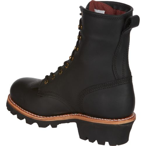 Chippewa Boots Men's Steel- Toe Logger Rugged Outdoor Boots - view number 3