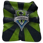 Logo™ Seattle Sounders FC Raschel Throw - view number 1