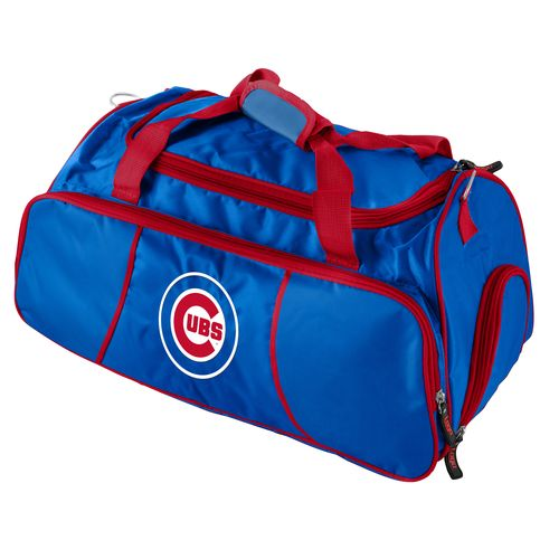 Logo Chicago Cubs Athletic Duffel Bag
