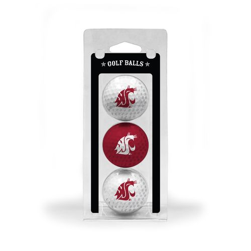 Team Golf Washington State University Golf Balls 3-Pack - view number 1