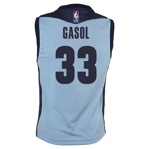 adidas™ Boys' Memphis Grizzlies Pau Gasol #16 Replica Alternate Jersey