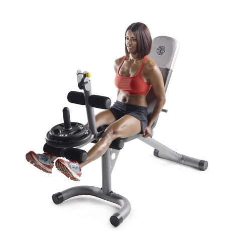 Gold 39 s gym xrs 20 olympic workout bench academy Academy weight bench